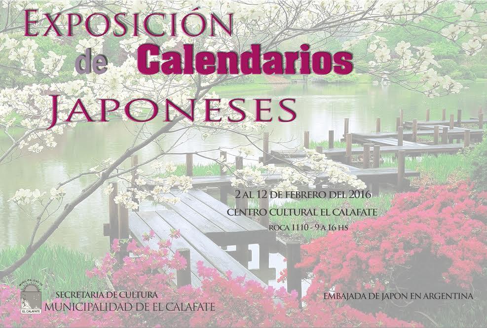 Comienza La Exposición De Calendarios Japoneses En El Centro Cultural
