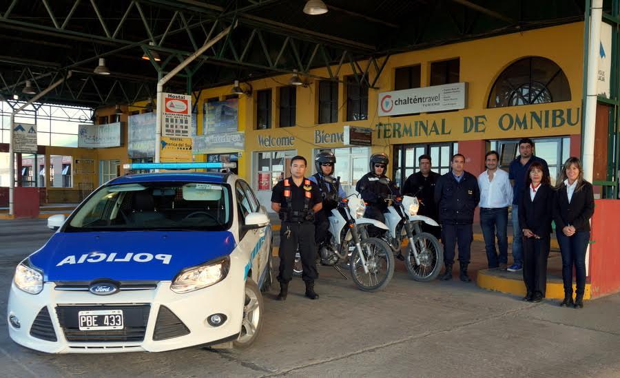 La Policía Comenzó La Guardia En La Terminal De Ómnibus